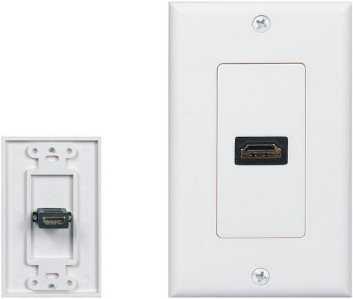 HDMI WALL PLATE SINGLE