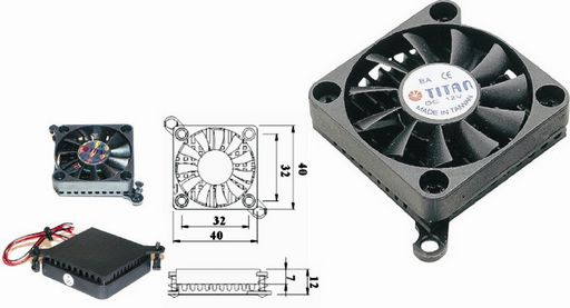 CHIPSET COOLER 40mm SLIM