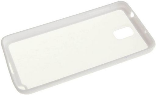 <NLA>JELLY BUMPER CASE WITH HARD CLEAR BACK