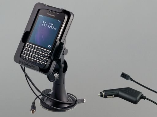 SUCTION MOUNT PHONE CRADLE - CHARGER & ANTENNA COUPLER