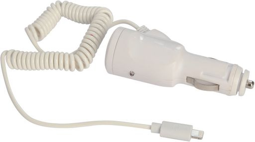 CAR CHARGER USB PORT & LIGHTNING CABLE