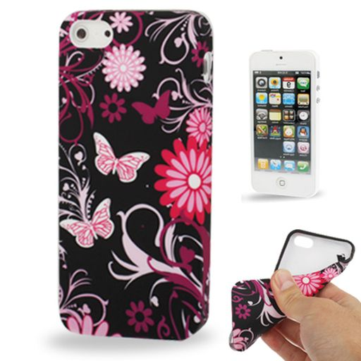 STYLISH PRINTED TPU CASE FOR APPLE iPHONE 4 / 4S