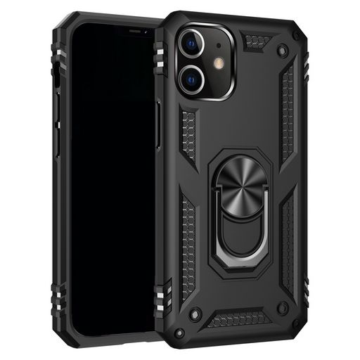 ARMOUR CASE FOR APPLE iPHONE 12 / 12 PRO WITH RING STAND + MAGNETIC HOLDER