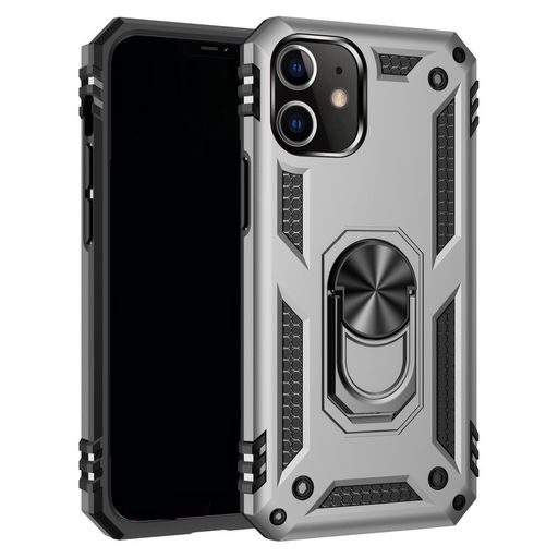 ARMOUR CASE FOR APPLE iPHONE 12 PRO MAX WITH RING STAND + MAGNETIC HOLDER
