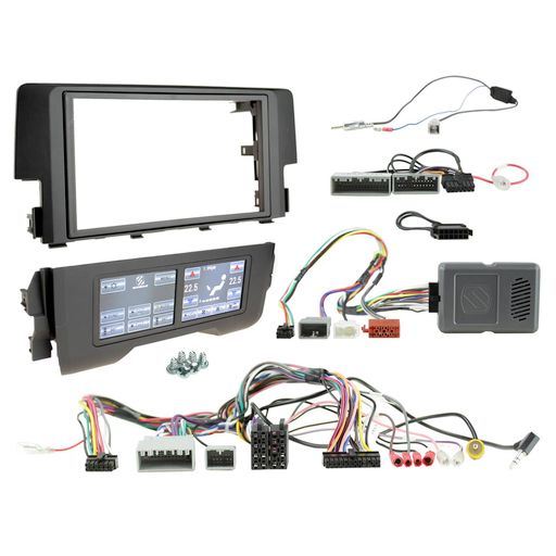 DOUBLE DIN INSTALL KIT TO SUIT HONDA CIVIC