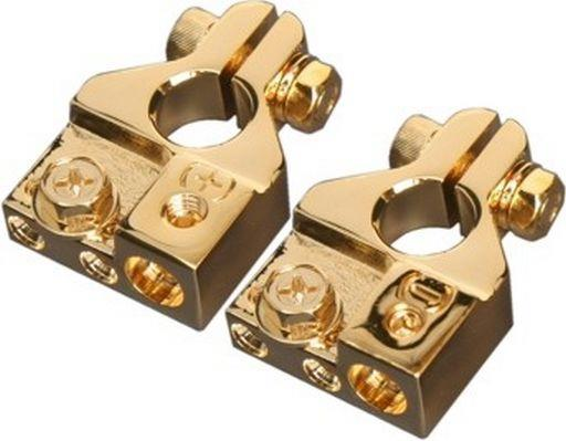 GOLD PLATED MULTI BATTERY TERMINALS
