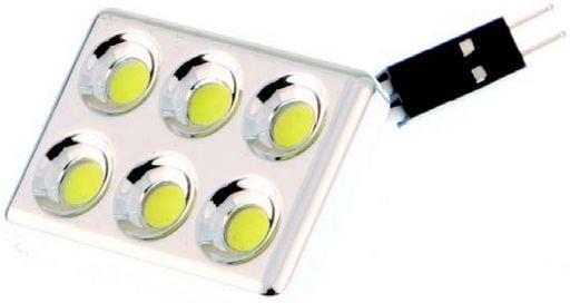 6x Super SMD LED