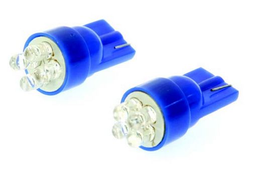 T10 WEDGE TYPE LED COLOUR LIGHTING