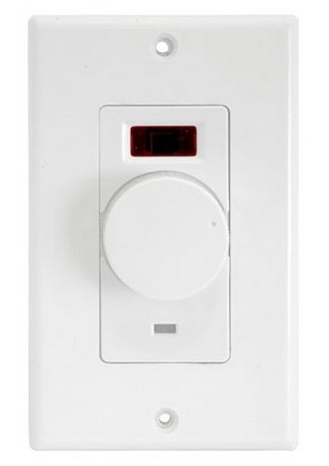 VOLUME WALL PLATE 8 OHM - IR RECEIVER