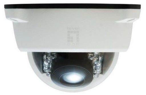 .IP CAMERA DOME WITH IR LEDs - LEVELONE 2M