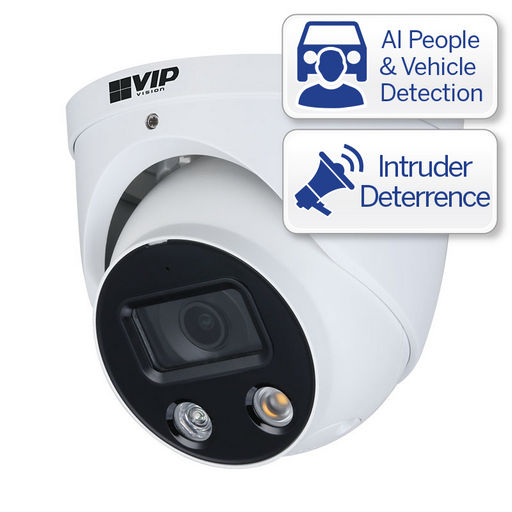 4MP IP CAMERA FIXED DETERRENCE TURRET CAMERA - PROFESSIONAL SERIES