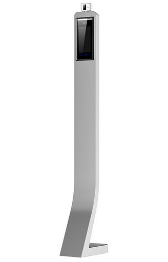 TEMPERATURE MONITORING ACCESS CONTROL STATION WITH FLOOR STAND