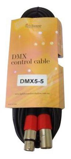 DMX 5 PIN XLR-XLR CABLE