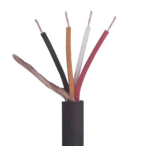 DMX LIGHTING CONTROL CABLE. 4 X 20 STRANDS X 0.12MM WITH SHEILDOD 6.0MM 100M ROLL