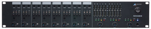 8 CHANNEL STEREO MIXER