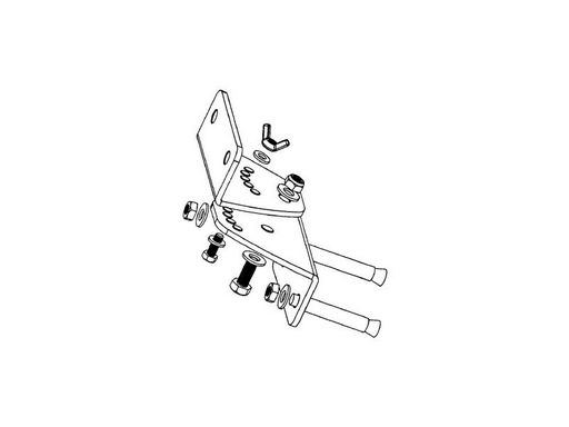 XRS WALL BRACKET KIT FOR USE WITH XRS10 OR XRS12 SERIES