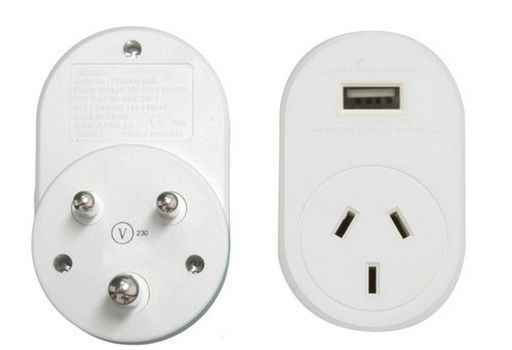 OUTBOUND USB 1A TRAVEL ADAPTOR INDIA