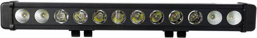 SINGLE ROW LED LIGHT BARS - LARGE REFLECTOR