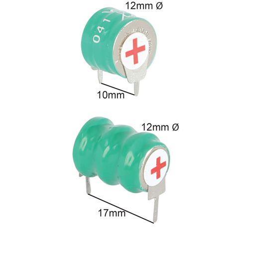 3.6V VARTA PCB MOUNT