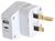 OUTBOUND TRAVEL ADAPTOR UK / HONG KONG