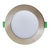 10W DIMMABLE RECESSED LED DOWN LIGHT 112mmØ WITH CHANGEABLE MAGNETIC FACEPLATE