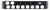 HORIZONTAL 2RU 10 WAY GPU + 4 WAY C19 - WITH AMP DISPLAY