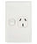 VERTICAL POWER OUTLET 10A