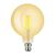 LED G125 FILAMENT GRAND CLASSIC DIMMABLE CLEAR & AMBER- VERBATIM