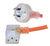 IEC C13 TO 10A GPO PLUG - MEDICAL