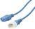 IEC C13 TO C14 EXTENSION CORD - BLUE