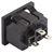 SNAP-IN IEC C13 PANEL MOUNT