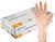 CLEAR VINYL SINGLE USE POWDER FREE GLOVES 4.5g - MEDICOM VITALS