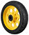 R-TRAC CASTER WHEEL 2-PACK, 8