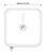 QUMAX DIRECTIONAL LTE ANTENNA WITH IP67 ENCLOSURE FOR TELTONIKA RUTX12