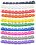 COLOUR CODED CABLE CORD MARKER SET****2
