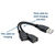 USB Y SPLITTER CABLE USB-AM TO 2x USB-AF