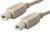 "USB CABLES M-M TYPE ""B"""