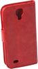 ALC6500-283 Crazy Horse Leather Case With Cover-Red