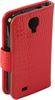 ALC6500-423 Crococile Style Leather Case-Red