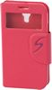 ALC6500-559 S-Style Leather Case With Caller ID spaces-Hot Pink