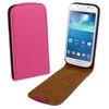 ALC6512-109 Vertical Leather Flip Case-Hot Pink
