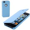 ALC9050-125 Ultra Slim Flip Leather Cover with Plastic Back Shell -Blue