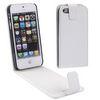 CARBON FIBRE TEXTURE VERTICAL FLIP LEATHER CASE FOR iPHONE 5...