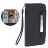ALC9050-272 PU Leather Case Horizontal With Business Card Holder-Black