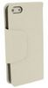 ALC9050-281 Ultra Thin Horizontal Leather Flip Case With Holder-White