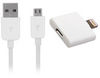 APL106 Micro USB Data Cable With Apple Licensed Lightning Adaptor