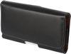 POU6478-152 Horizontal Leather Sleeve Case - Black
