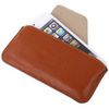 POU9050BR Horizontal Leather Sleeve Case - Brown