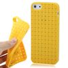 WEAVE TEXTURE JELLY CASE FOR iPHONE 5 / 5S / SE