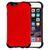 CURVED SILICON AND PLASTIC PROTECTIVE CASE FOR APPLE IPHONE 6 / 6S